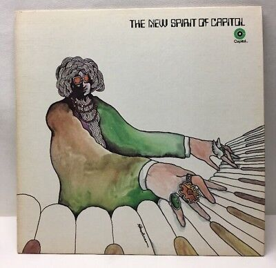 The New Spirit Of Capital With Pink Floyd Snp 6 Record Lp Ex