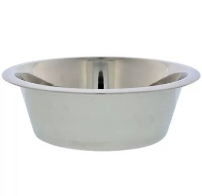 Kennel Club Large Stainless Steel Pet Dog Bowl Holds 52.41 oz.