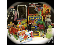 Wanted vintage toys and games consoles cash waiting