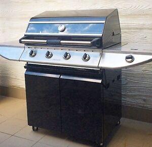 Cordon Bleu 4 Burner with side burner - 1 year old. Richmond Yarra Area Preview