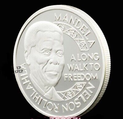 SOUTH AFRICA-MEDAL COIN munze Monnaie Moneda NOBEL PEACE Nelson MANDELA.1993. for sale  Shipping to South Africa