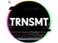 2x TRNSMT tickets for Friday 29th June 2018 (Glasgow Green)