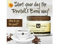 RevitalU Brew Clever Weight Loss Coffee