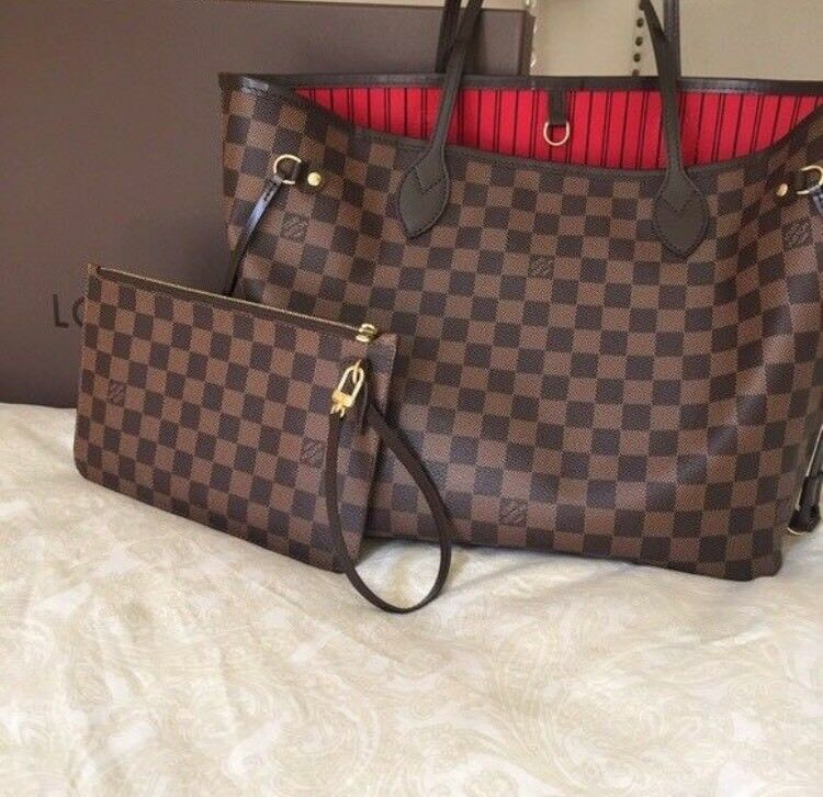 ac811c1fc09e Louis Vuitton Neverfull Designer Bag Clutch Bag Travel Bag Holiday Bag  Wallet Purse