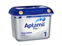 Aptamil formula milk