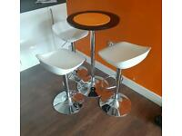 Bar Table & Stools.