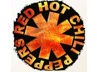 FACE VALUE - 4 X Standing Tickets - Red Hot Chili Peppers - Glasgow Hydro