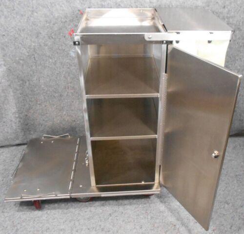 Royce Rolls F36 Janitorial Cart W/Folding Platform