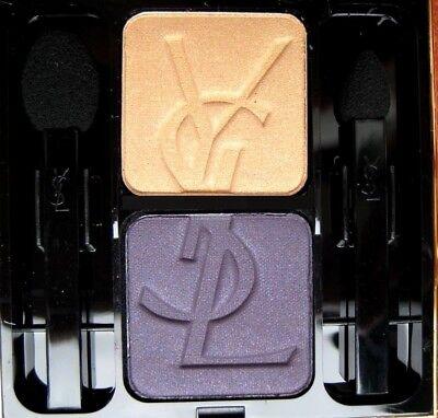 Yves Saint Laurent Eye Shadow Duo 31 Midnight/Solar Gold- New - Yves Saint Laurent Eye Shadow Duo