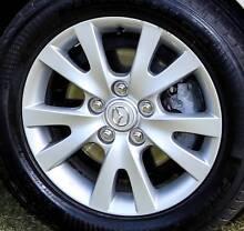 Mag Wheels - Mazda 3 - 16 inch Factory Alloys (Set of 4) Gateshead Lake Macquarie Area Preview