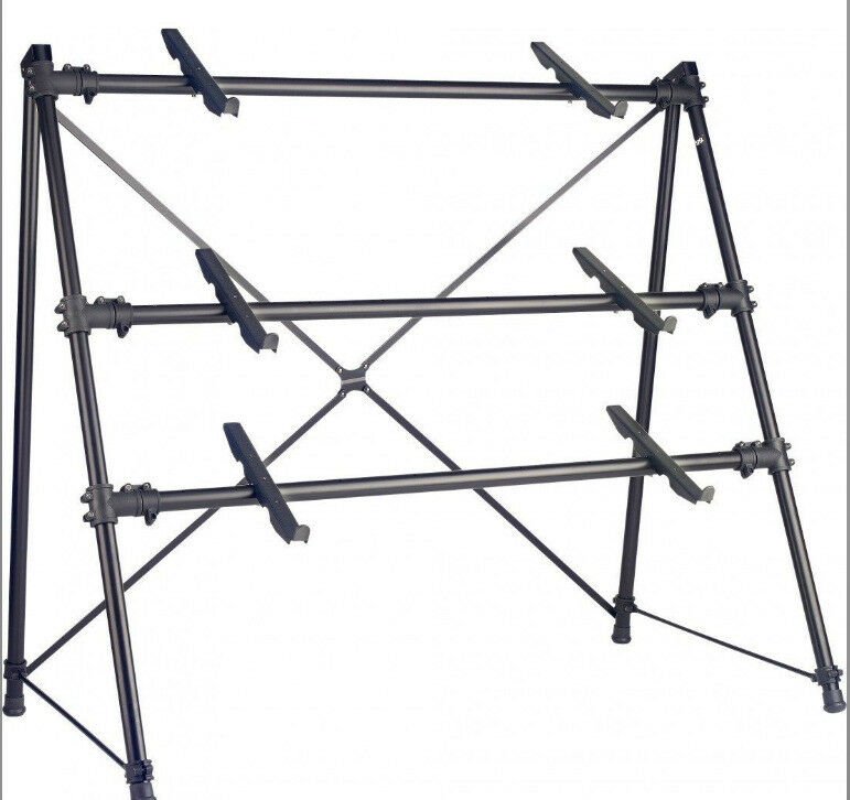 Stagg KXS-C34BK 3-Tier Keyboard Synth Stand A-Frame | in Stoke ...