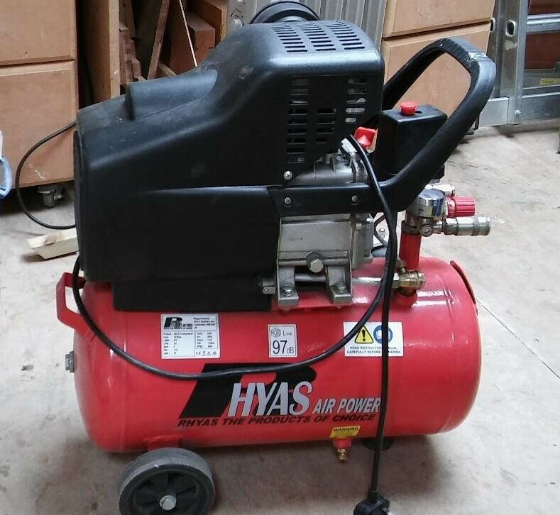 RHYAS 24L 9 5cfm Air Compressor | in Gorleston, Norfolk | Gumtree
