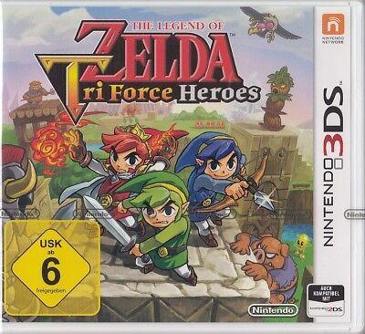 The Legend of Zelda: Tri Force Heroes - Nintendo 3DS -NEU & OVP Deutsche Version