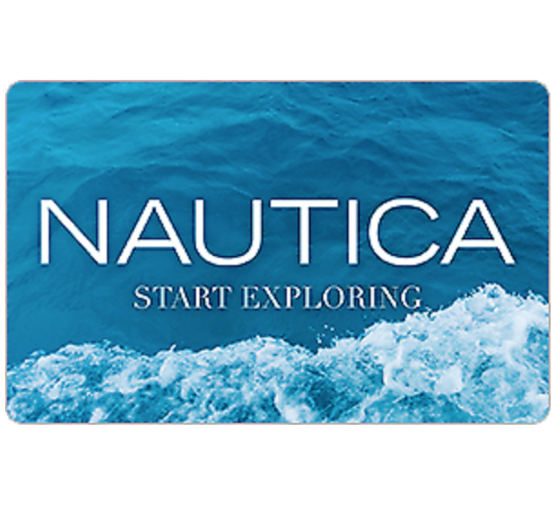 Nautica Gift Card - 25, 50 Or 100 Email Delivery  - $25.00