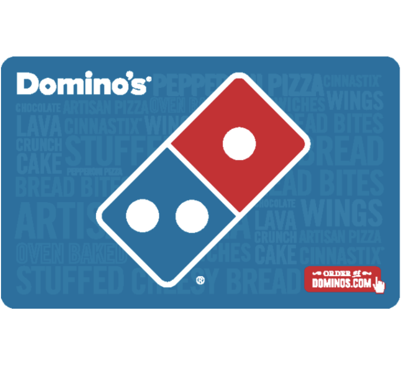 Domino s Pizza Gift Card - 25, 50 Or 100 Email Delivery  - $25.00