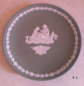 Wedgwood Jasperware Plates, Pin Dishes Etc.