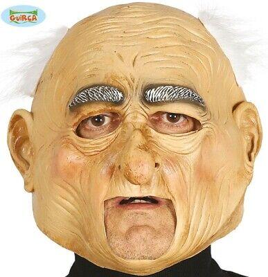 Erwachsene Alter Mann Kopfmaske Kostüm Latex Älterer Kopfmaske mit Haaren Neu - Mann Mit Kopf Kostüm