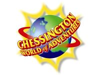 CHESSINGTON BANK HOLIDAY MONDAY. TWO TICKETS. Monday 28 August.