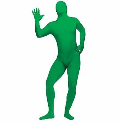 Fun World Adult Mens Morph Skin Suit Halloween Party Costume Green, One Size](Morph Suites)