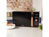 Tower rose gold Microwave .Brand New