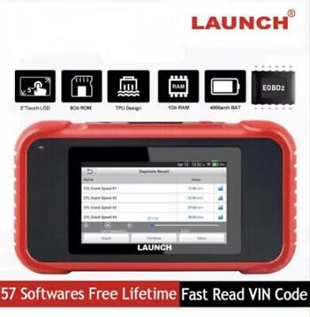 Launch 129X OBD Obd2 diagnose reset service tool