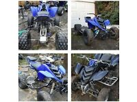 yamaha raptor R6 project