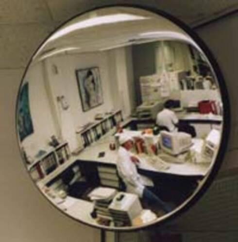 Winkel bewakingsspiegel rond 30 cm tot 80 cm for Marktplaats spiegel