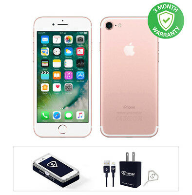 Apple iPhone 7 - 32GB - Rose Gold- Fully Unlocked ()