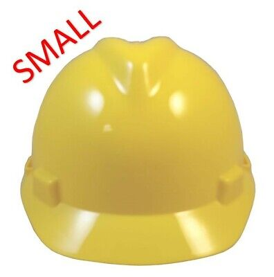 Msa V-gard Small Cap Style Hard Hat With Staz On Suspension - Yellow