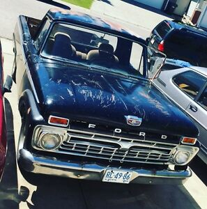 1966 Ford f100 running driving Project