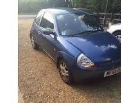 FORD KA LUXURY EDITION 1.3 METALLIC BLUE LOW MILEAGE 12 MONTH MOT
