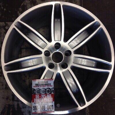 Maserati Quattroporte 2013 2014 97463 OEM wheel rim 20 x 10.5 CNC Bluish Silver