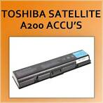 Accu voor Toshiba Satellite Satellite a200 Series notebook