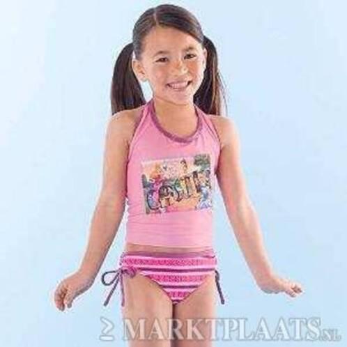 nieuwe roze prinsessen bikini tankini diverse maten kinderkleding maat 110. Black Bedroom Furniture Sets. Home Design Ideas