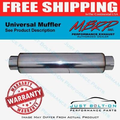 MBRP Replaces All 30 Length Mufflers 4 Inlet Outlet 24 Body T304 M1031