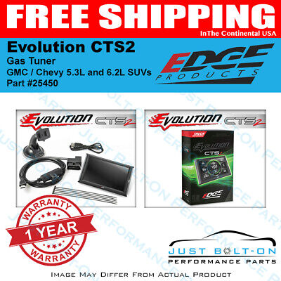 EDGE Evolution CTS2 Gas Tuner 2017-2020 GMC / Chevy 5.3L and 6.2L SUVs - 25450