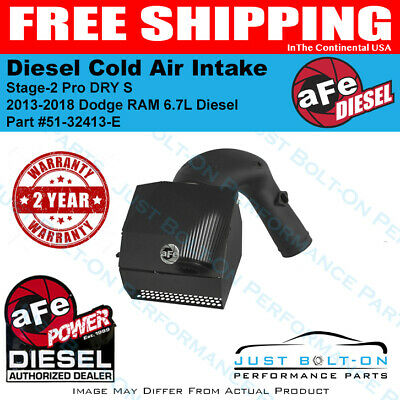 aFe Power Diesel Stage-2 Intake 2013-18 Ram 2500-3500-4500-5500 6.7L 51-32413-E