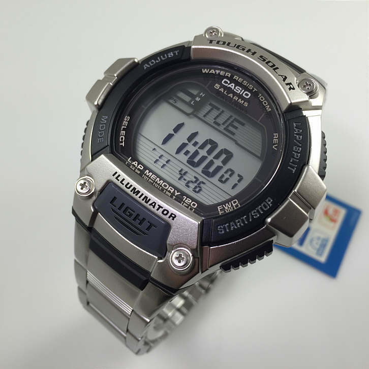 Men's Casio Tough Solar Power Sports Watch WS220D-1AV