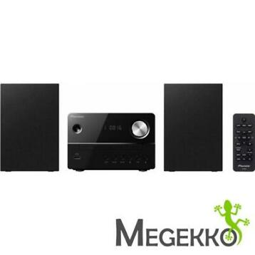 Pioneer X-EM16 Micro set 10W Zwart home audio set