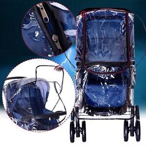 Rain Cover PLUS Size Raincover Fit Universal Hauck Shopper Sport Buggy Pushchair
