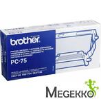 Brother PC-75 Meervakscassette Incl. Thermotransferrol