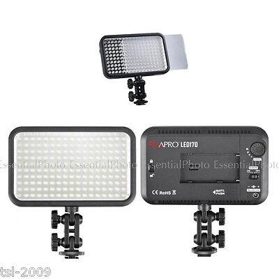 Camera LED170 LED Panel Portable Video Light DSLR DV Film interview A+
