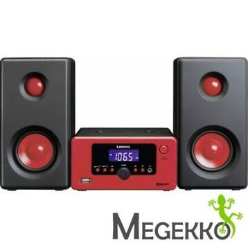 Lenco MC-020 Stereo Set in het rood