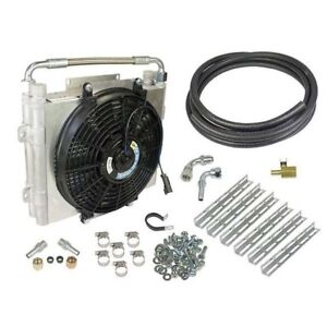 """BD Diesel Xtrude Double Stacked Transmission Cooler Kit - 1/2"""""""
