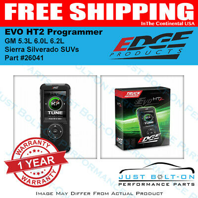 Edge EVO HT2 Programmer 2017-2019 GM 5.3L 6.0L 6.2L Sierra Silverado SUVs 26041