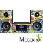 Lenco MC-020 Stereo Set in Graffiti uitvoering