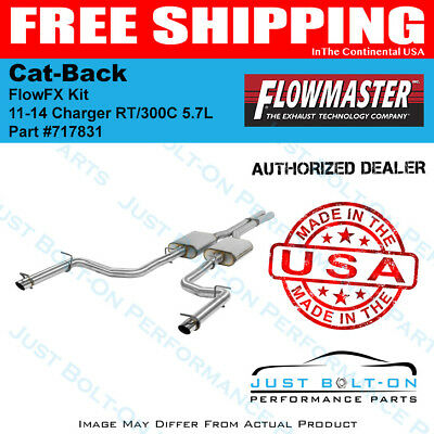 Flowmaster 11-14 Charger RT/300C 5.7L FlowFX SS Catback #717831