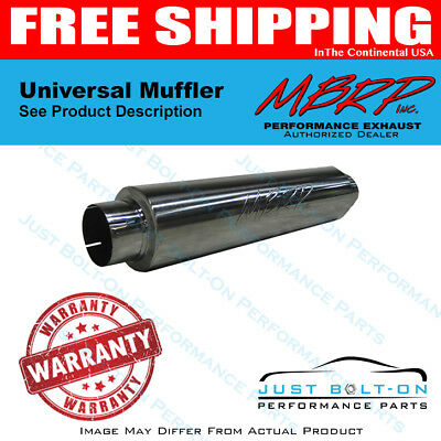 MBRP Replaces All 30 Length Mufflers 4 Inlet Outlet 24 Body T409 M91031