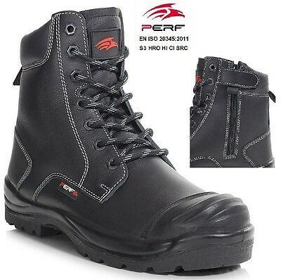 Womens Waterproof Combat Boot (MENS WATERPROOF S3 SAFETY MILITARY COMBAT BOOTS POLICE WOMENS WORK SHOE BOOTS SZ)