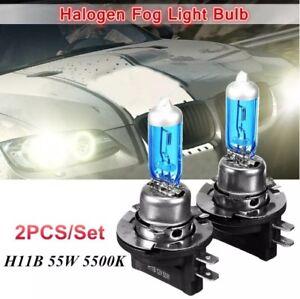 H11B 12v 2pcs (pair) 55w high performance car low head lamp bulb